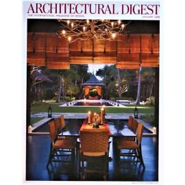 Architectural Digest Magazine, January 2008