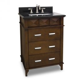 Lexington 26 inch Vanity with Preassembled Top and Bowl