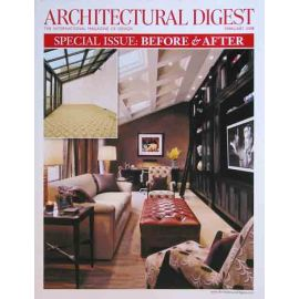 Architectural Digest, February 2008