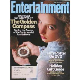 Entertainment Weekly Magazine, December 2007