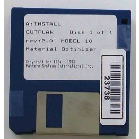 Pattern systems International Library of diskettes.