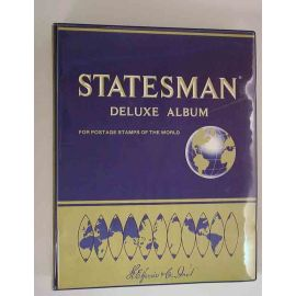 Statesman Deluxe Album for Postage Stamps of the World
