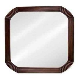 Walnut Mirror by Bath Elements