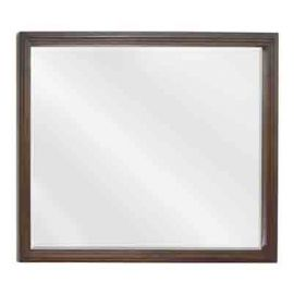 Large Buttercream Compton Mirror by Bath Elements
