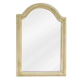 Buttercream Compton Mirror by Bath Elements