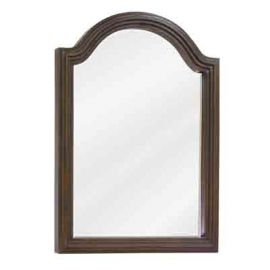 Walnut Compton Mirror by Bath Elements