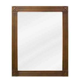Toffee Hamilton Mirror by Bath Elements