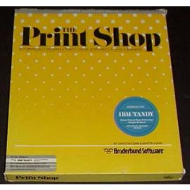 The Print Shop (for IBM/Tandy)